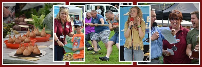 collage of photos from the Mirfield Show