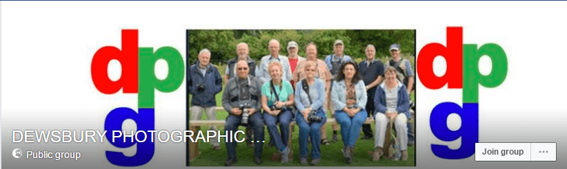 poster for Dewsbury Photographic Group