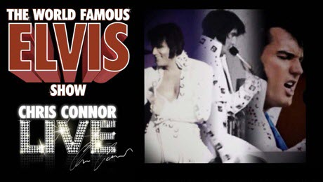 poster for The Elvis Show in Dewsbury