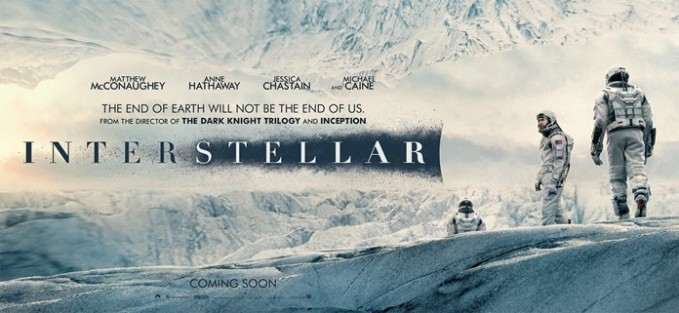 image of interstellar movie poster