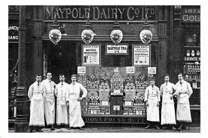 image of the Maypole Dairy, Dewsbury
