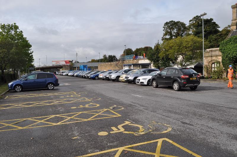 image of Wellington Road car park in Dewsbury