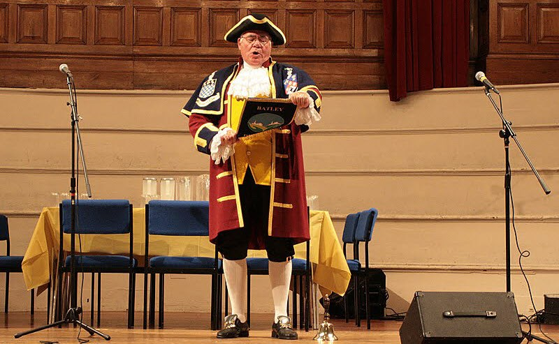 photo of Dewsbury Town Crier