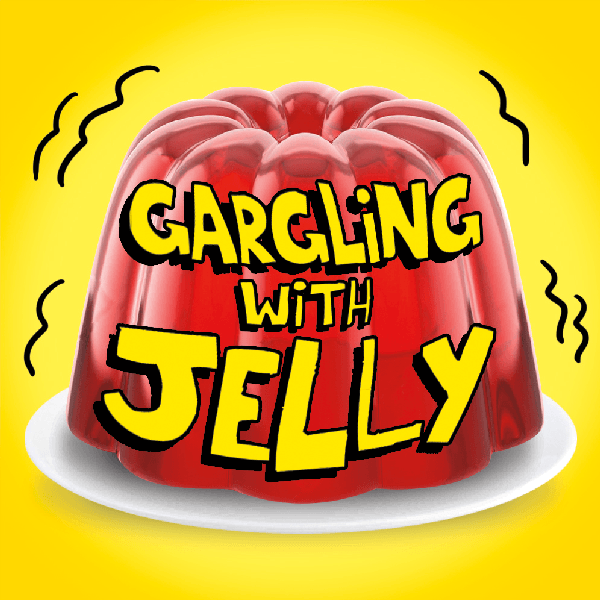 poster for Gargling with Jelly by Dewsbury Arts Group