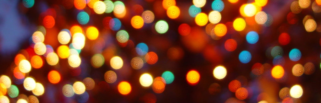 picture of Christmas lights