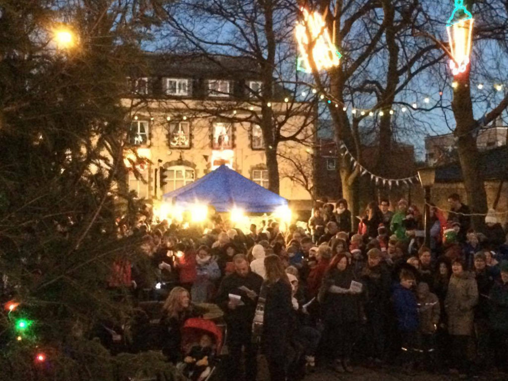 photo of Mirfield Christmas carols