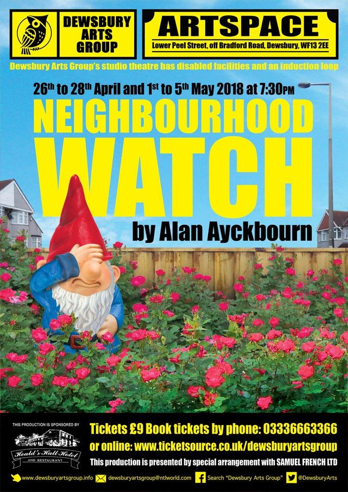 poster for Neighbourhood Watch play