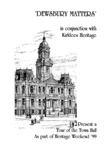 cover image of Visitors Guide to Dewsbury Town Hall