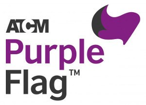 logo of the Purple Flag accreditation