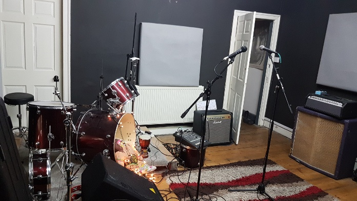 photo of Shove It records recording studio