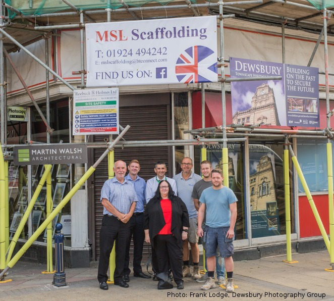 Dewsbury Town Centre Gains More Renovation Projects Go