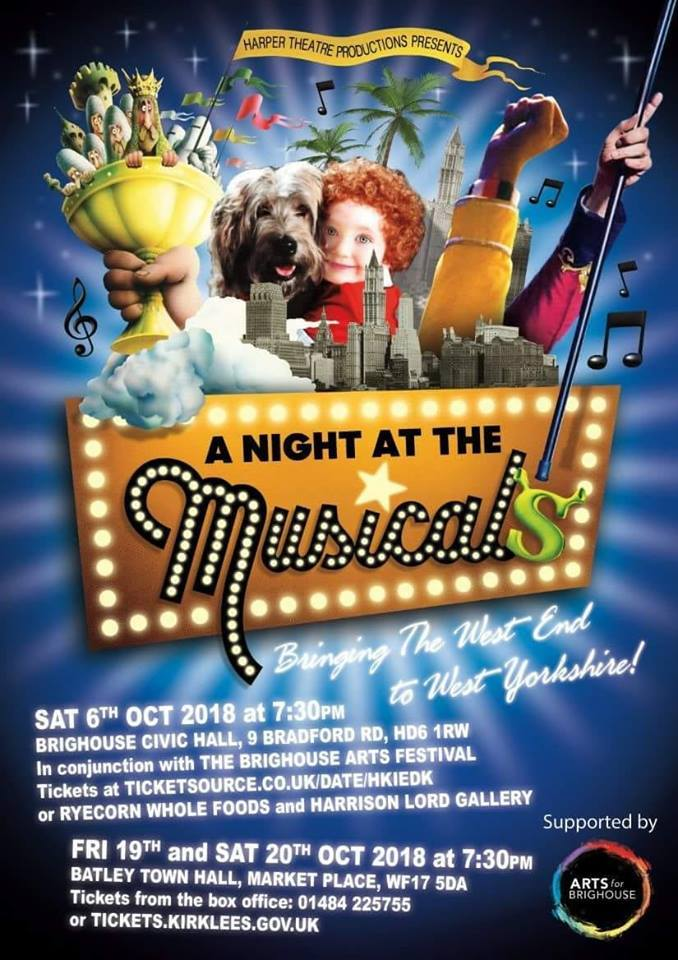poster for A Night at the Musicals
