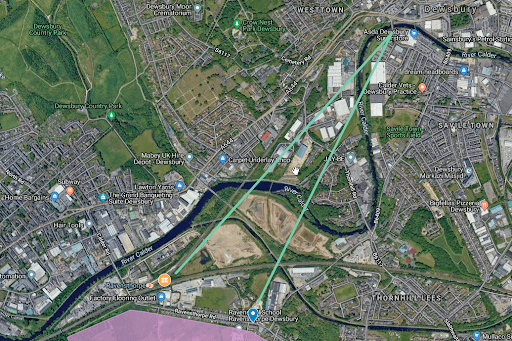 Direct routes for Dewsbury Riverside Way