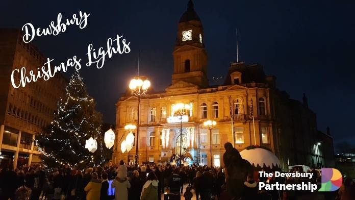 photo of Dewsbury Christmas Lights 2018